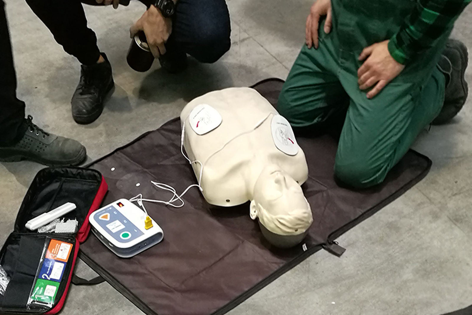 pierwsza pomoc - szkolenie nafantomie